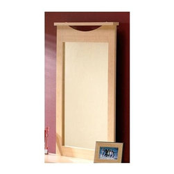 """South Shore - Mirror w Wood Frame in Maple Stained Finish - Enjoy the beauty of a great piece as well as the beauty of your reflection with this wonderful maple stained wall mirror. The wall mirror features a lovely maple stained frame with decorative detail on the top of the frame that adds to the beauty of the frame quite subtly. A attractive frame for any bedroom! Enjoy the convenience of having a mirror in your bedroom with this dresser mirror. When you mount this mirror above your dresser, you create an easy place to get ready each day! * Manufactured from eco-friendly, EPP-compliant laminated particle boardcarrying the Forest Stewardship Council (FSC) certification. Particle board constructionShips ready to assemble. Manufacturer's Five year limited warrantyNatural maple finish29"""" W x 40"""" H"""