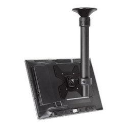 "Atdec - Telehook Ceiling Tilt short 40 - Atdec TELEHOOK 1040 Short Adjustable Ceiling TV Mount Holds Up to 40 inch TV   Telescopic pole adjustment from: 15.75"" to 35.43"".  Supports maximum weight 55 lbs - Supports mounting hole pattern: 75mm x 75mm;100mm x 100mm; 200mm x 100mm; 200mm x 200mm  offering superior display versatility  combined with enhanced safety features and hassle-free installation. The ""donut"" mounting head effortlessly rotates the screen through 360 degrees around the pole and to maximise display impact the VESA Ball Mount can infinitely adjust display position by 20 degrees in any direction.  This item cannot be shipped to APO/FPO addresses. Please accept our apologies."