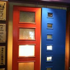 Midcentury Front Doors by Lynden Door