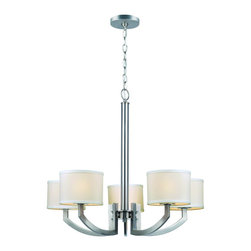 Lite Source - Lanette 5 Light Single Tier Chandelier - To put it plainly and simply, Lite Source is a quality manufacturer of a vast selection of both beautiful and affordable interior lamps, not to mention a small number of other household items. From unique floor lamps and contemporary table lamps, to standard desk lamps, any Lite Source purchase will be a long-lasting addition to your existing decor, and a highly functional source of light! Lite Source manufactures a beautiful selection of high quality accent lamps, ceiling lighting, wall lighting, exterior lighting and home accessories. From novelty lamps in unique styles to standard desk and floor lamps, a purchase from Lite Source will be a long-lasting addition to any decor and for any application.