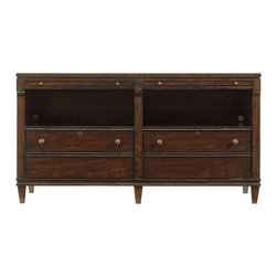 perfect companion. Complete with two file drawers with working locks ...