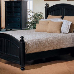 Winners Only - Cape Cod Wooden Panel Bed - Pictured in Ebony. Chest and armoire not included. Made from wood. Minimal assembly required. Twin Bed: 84 in. L x 44 in. W x 55.5 in. H (129 lbs.). Full Bed: 83.5 in. L x 59.25 in. W x 62 in. H (237 lbs.). Queen Bed: 90 in. L x 66 in. W x 62 in. H (221 lbs.). King Bed: 90 in. L x 83 in. W x 64 in. H (270 lbs.). California King Bed: 94 in. L x 83 in. W x 64 in. H (270 lbs.)
