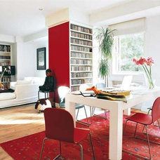 Reddist? Home Interior Design and Decoration with Red Accent Color Scheme by Jul