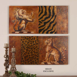 "32184 Hand Painted Art by uttermost - Get 10% discount on your first order. Coupon code: ""houzz"". Order today."