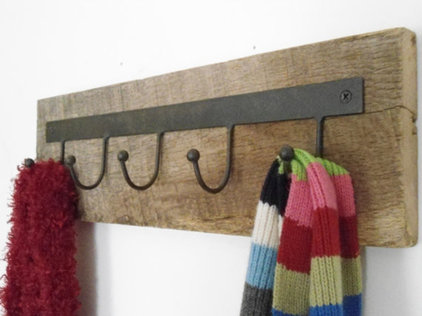 Rustic Hooks And Hangers by Etsy