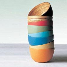 Contemporary Dining Bowls by inhabitatshop.com
