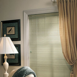 "Levolor - Levolor Riviera One 1-inch 6-Gauge Metal Blinds - The Riviera is the ultimate range of aluminum blinds, including the 1/2"" sleek micro size, the 1"" standard and the popular 2"" Classic size."