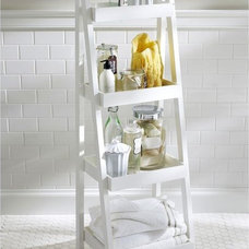 Contemporary Bathroom Storage by Pottery Barn