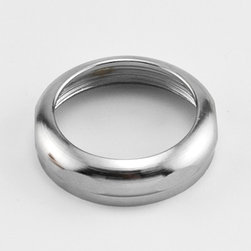 """1-1/2"""" x 1-1/2"""" Slip Nut for Tub Drain - Chrome - This slip nut for tub drain is essential for fitting together different sized pipes."""