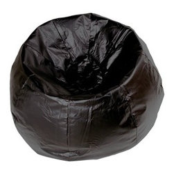 X Rocker - Classic Bean Bag Chair - Slightly larger than our standard bean bag chair, this large bean bag allows you to further enhance your comfort level. It's great for the family room, dorm room or your child's bedroom. It features a durable vinyl cover and a classic style perfect for any decor. Stuffed with 100% polystyrene bead, it's the perfect place to read, study, watch a movie or play video games! Features: -Long lasting and durable.-Vinyl cover.-Easy to clean.-Can easily be refilled.-Classic Bean Bag collection.-Distressed: No.-Number of Items Included: 1.-Water Resistant or Waterproof: No.-Stain Resistant: No.-Fill Included: Yes -Fill Material: Polystyrene bead.-Pre-Filled: Yes..-Removable Cover: No.-Zipper Closure: Yes.-Childproof Closure: Yes.-Pocket Included: No.-Handle Included: No.-Recommended Age: 13+.-Seating Comfort: Soft.-Seating Capacity: 1.-Weight Capacity: 250.-Swatch Available: Yes.-Commercial Use: No.-Recycled Content: No.-Product Care: Wipe clean with a dry cloth.Specifications: -ISTA 3A Certified: No.Dimensions: -Overall Height - Top to Bottom: 23.-Overall Width - Side to Side: 40.-Overall Depth - Front to Back: 40.-Circumference: 132.-Overall Product Weight: 10.Assembly: -Assembly Required: No.-Additional Parts Required: No.Warranty: -Product Warranty: 30 Days.