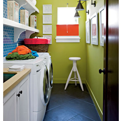 Traditional Laundry Room Cottage Laundry
