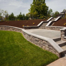 Traditional Landscaping Stones And Pavers by RediPour Wall Systems