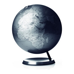 Menu A/S - Menu A/S Classic Globe - Classic globe in elegant design. Lovely dusty colours and superb details. Turns on its own axis on a classic globe foot. Made of metal and plastic and presented in branded gift box.