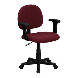 Flash Furniture - Flash Furniture Office Chairs Fabric Task Chairs X-GG-YB-1-066-TB - This value priced mesh office task chair will accommodate your essential needs for your home or office. Ergonomically correct chair that is both comfortable and well priced will satisfy the needs of most computer users. [BT-660-1-BY-GG]