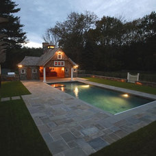 Traditional Pool by Tallman Segerson Builders