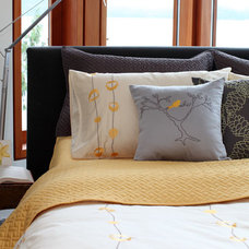 Contemporary Bed Pillows And Pillowcases by PURE Design Inc