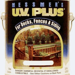 MESSMER'S INC - MS-607 1g Charcoal Stain UV Plus - UV Plus Semi-Transparent Stain Finish Premium penetrating oil based natural wood Finish Protect and beautifies exterior wood for decks, siding, fences, log homes and more Excellent resistance to UV degradation