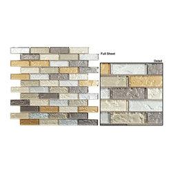 Mirage glass tile mosaic Impression series -