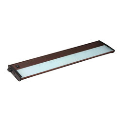 """Maxim Lighting - Maxim Lighting CounterMax MX-X120c 21"""" 3-Light 120V Xenon Under Cabinet Light - With a sleek profile, link ability and direct wiring, CounterMax MX-X120c Series installs easily under the cabinet and emits a warm light. The hinged top gives easy access to the long-lasting Xenon bulbs and wiring. Cabinets stay cool and safe due to the unique airflow design that limits heat transfer."""
