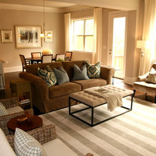 Traditional Living Room by Simply Staged