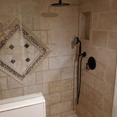 Contemporary Showerheads And Body Sprays by cappello plumbing