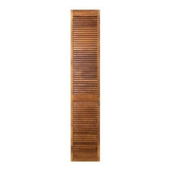 "MASONITE - Louvered Bifold Door 36"" x 80"" Wood - Features:"
