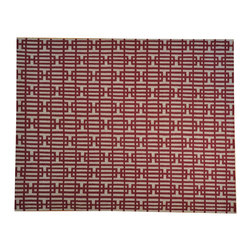 1800-Get-A-Rug - 100% Wool Flat Weave Durie Kilim Geometric Design Hand Woven Rug Sh18162 - The Flat Weave hand woven rug is a type of area rug created by weaving wool onto a foundation of cotton warps on a loom. The Flat Weave rug offers the same beauty and durability as the classical thick-pile Oriental rugs, but without the telltale thick pile often spotted in other rugs. This gives the Flat weave a thin and flat appearance which resembles the Needlepoint, making them wonderfully ideal choices as accent rugs, wall hangings, or to drape over furniture and staircases.