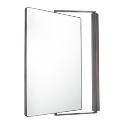 Metro Pivot Mirror - A sleek look for all types of spaces. The Metro Mirror is designed with serenity, in mind, while incorporating well-formed design and function.