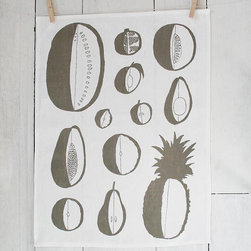Linen Tea Towel Fruit by Slide Sideways - A cook can never have too many tea towels, and I love this one by Slide Sideways.