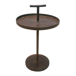 Bassett Mirror - Bassett Mirror Ritz Martini Table A9204EC - Bassett Mirror Ritz Martini Table A9204EC