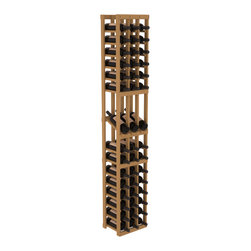 Wine Racks America - 3 Column Display Row Wine Cellar Kit in PIne, Oak - Make your best vintage the focal point of your wine cellar. High-reveal display rows create a more intimate setting for avid collectors wine cellars. Our wine cellar kits are constructed to industry-leading standards. You'll be satisfied. We guarantee it.