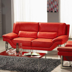 Marthena Home Furnishings - Sofa Full Length Couch - 2230SF - Contemporary feel that will be welcomed anywhere in your home.
