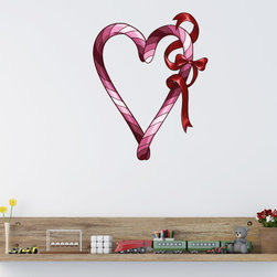 Holiday Valentines Day Vinyl Wall Decal HolidayValentinesDayUScolor006; 72 in. - Vinyl Wall Decals are an awesome way to bring a room to life!