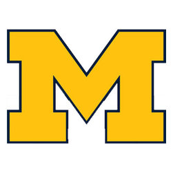 Trademarx Wall Decor - NCAA Michigan Wolverines College Logo Wallmarx Accent Decal - Features: