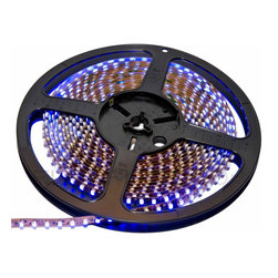 Flexfire LEDs - ColorBright™ LED Strip Light, Vivid Blue, Foot, Indoor - ColorBright™ offers super bright, UL listed LED strips that can illuminate the interior and the exterior of your home.