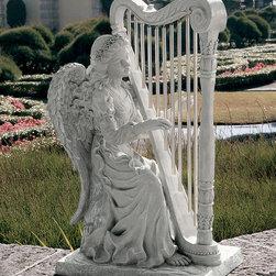 Garden decor - Music from Heaven Angel Statue