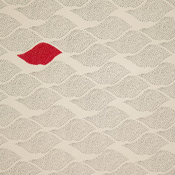 """The Make House - Micro Dot Waves Wallpaper - -Rolls: 27.25"""" x 15' untrimmed"""