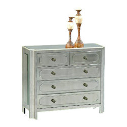 "Basett Mirror - Regency Hall Chest - Regency Hall Chest. 42"" x 17"" x 37"" H."