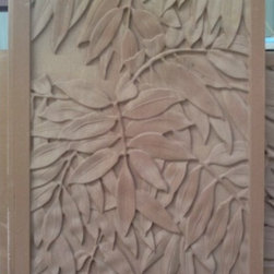Natural limestone 3d wallart tile - Natural stone 3D decorative wall cladding will make your artistic wall more vivid and amazing.