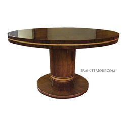 Art Deco Round Dining Table by ERA Interiors - ERA Interiors