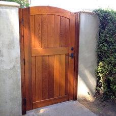 Mediterranean Home Fencing And Gates by Sederra