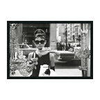 "Amanti Art - 'Audrey Hepburn, Breakfast at Tiffany's (Window)' Framed Photo With Gel Coated F - The image of Audrey Hepburn standing in front of the New York City jewelry store window from the movie Breakfast at Tiffany's has become so iconic, just about every shopping-obsessed woman has probably owned a version of it. If not, Holly Golightly might likely slap you upside the head with her ""Moon River"" ukulele! Enjoy this great image as beautifully framed art on your wall."