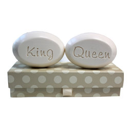 New Hope Soap - Scented Soap Bar Personalized – King & Queen, Bamboo Birch - Personalized Scented Soap Bar Gift Set Engraved with King & Queen