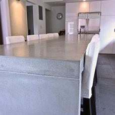 Modern Kitchen Countertops by Concrete Shop