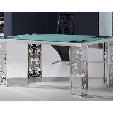 Asti Ornate Modern Dining Table