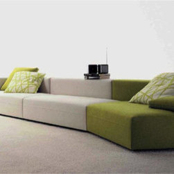 Freestyle Sofa Collection by Molteni & C - Designed by Ferruccio Laviani