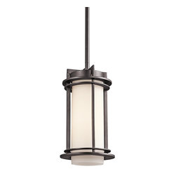 Kichler Lighting - Kichler Lighting 49347AZ Pacific Edge Modern / Contemporary Outdoor Pendant Ligh - Kichler Lighting 49347AZ Pacific Edge Modern / Contemporary Outdoor Pendant Light