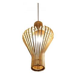 ParrotUncle - Plywood Modern Lantern Home Pendant Lamp - Plywood Modern Lantern Home Pendant Lamp