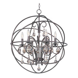 Maxim Lighting - Maxim Lighting 25144OI Orbit 6-Light Pendant - Maxim Lighting 25144OI Orbit 6-Light Pendant