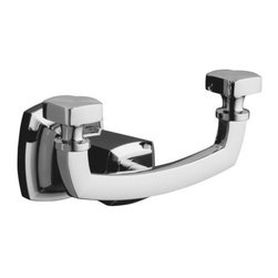 """KOHLER - KOHLER K-16256-CP Margaux Robe Hook in Polished Chrome - KOHLER K-16256-CP Margaux Robe Hook in Polished ChromeMargaux accessories create an aura of classic elegance with a variety of finishes that reinforce a sleek, contemporary feel as well as the timelessness of traditional decor.KOHLER K-16256-CP Margaux Robe Hook in Polished Chrome, Features:• 5-1/8""""W x 3-1/2""""D x 3'H"""